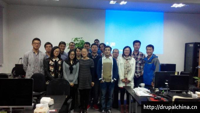 2014年11月22日Drupal上海聚会合影2